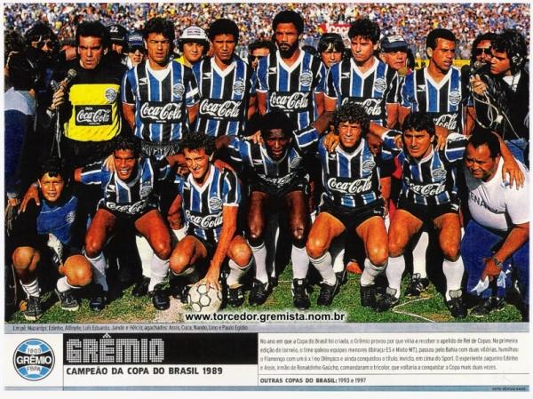 Equipe Gremio 1989
